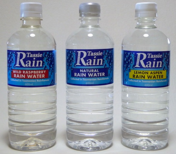 bottled water from Tasmania