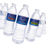 icon depicting 600ml bottled water flavoured